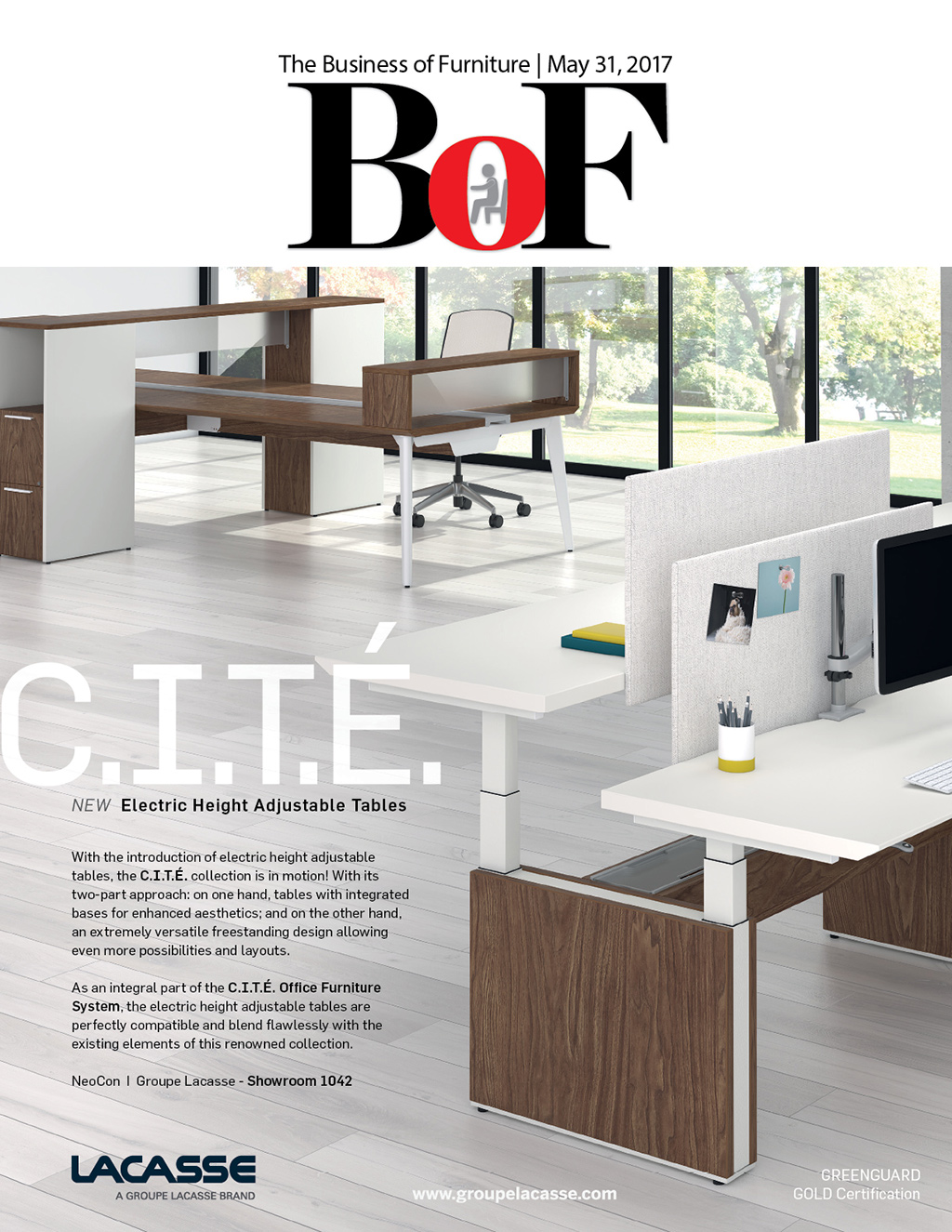 Furniture Design Magazine bellow press - latest editions of business of furniture and
