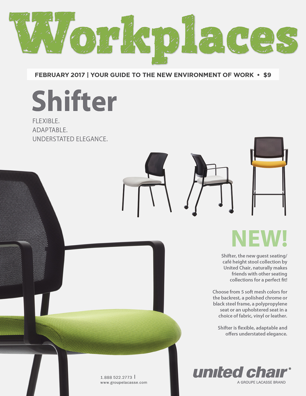 Workplaces Magazine   February, 2017